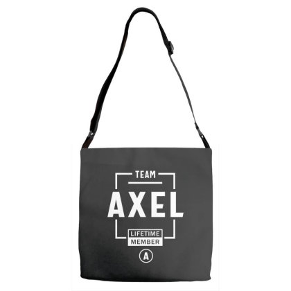 Axel Personalized Name Birthday Gift Adjustable Strap Totes Designed By Cidolopez