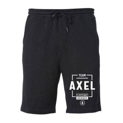 Axel Personalized Name Birthday Gift Fleece Short Designed By Cidolopez
