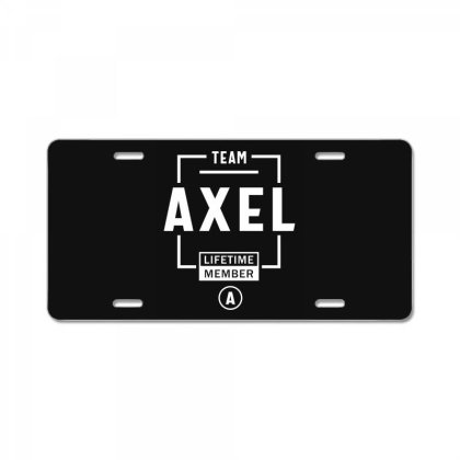Axel Personalized Name Birthday Gift License Plate Designed By Cidolopez