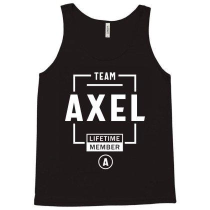 Axel Personalized Name Birthday Gift Tank Top Designed By Cidolopez