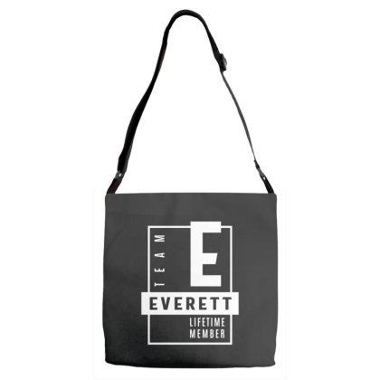 Everett Personalized Name Birthday Gift Adjustable Strap Totes Designed By Cidolopez