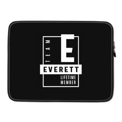Everett Personalized Name Birthday Gift Laptop Sleeve Designed By Cidolopez