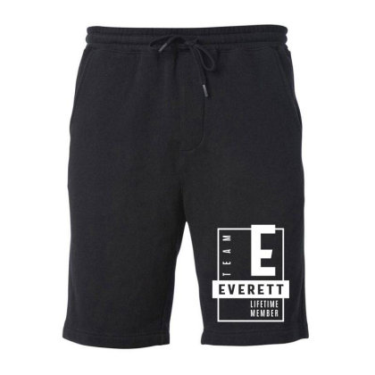 Everett Personalized Name Birthday Gift Fleece Short Designed By Cidolopez