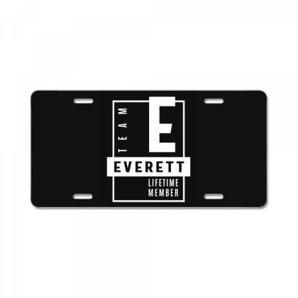 Everett Personalized Name Birthday Gift License Plate Designed By Cidolopez