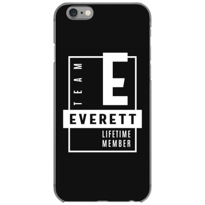Everett Personalized Name Birthday Gift Iphone 6/6s Case Designed By Cidolopez