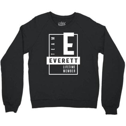 Everett Personalized Name Birthday Gift Crewneck Sweatshirt Designed By Cidolopez
