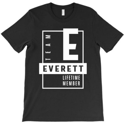 Everett Personalized Name Birthday Gift T-shirt Designed By Cidolopez