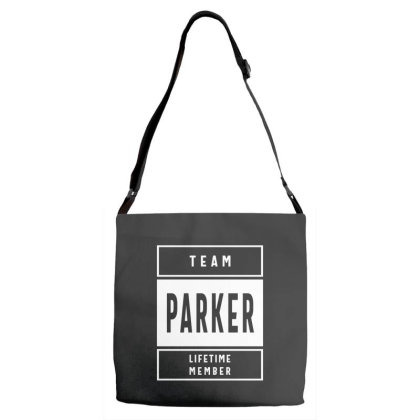 Parker Personalized Name Birthday Gift Adjustable Strap Totes Designed By Cidolopez