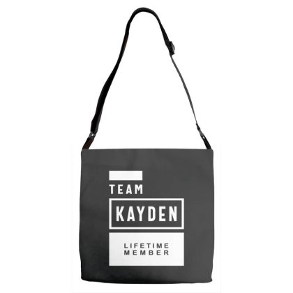 Kayden Personalized Name Birthday Gift Adjustable Strap Totes Designed By Cidolopez