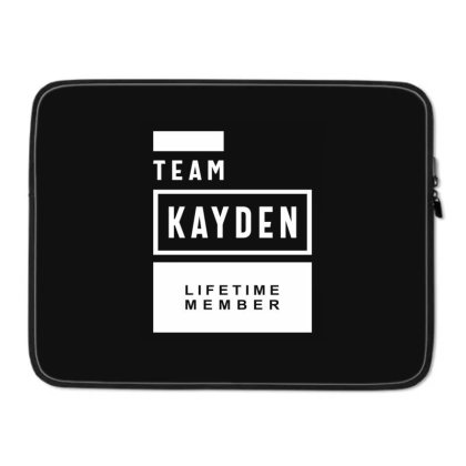 Kayden Personalized Name Birthday Gift Laptop Sleeve Designed By Cidolopez