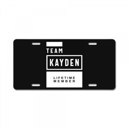 Kayden Personalized Name Birthday Gift License Plate Designed By Cidolopez