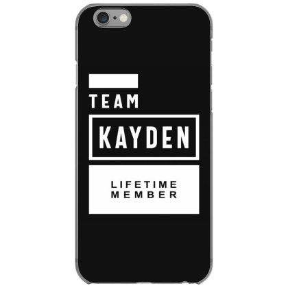Kayden Personalized Name Birthday Gift Iphone 6/6s Case Designed By Cidolopez