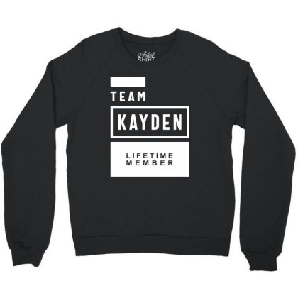 Kayden Personalized Name Birthday Gift Crewneck Sweatshirt Designed By Cidolopez