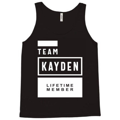 Kayden Personalized Name Birthday Gift Tank Top Designed By Cidolopez