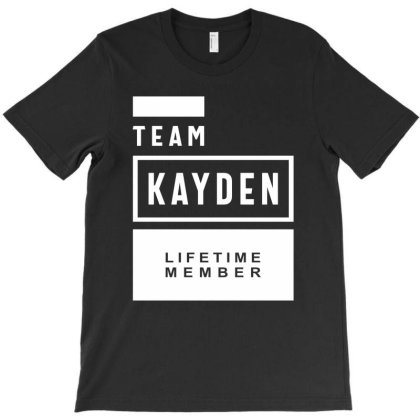 Kayden Personalized Name Birthday Gift T-shirt Designed By Cidolopez