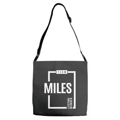 Miles Personalized Name Birthday Gift Adjustable Strap Totes Designed By Cidolopez