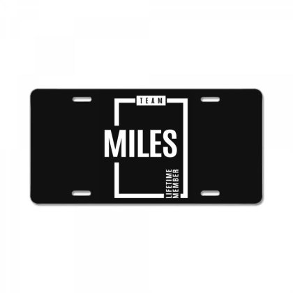 Miles Personalized Name Birthday Gift License Plate Designed By Cidolopez