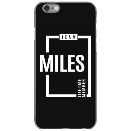 Miles Personalized Name Birthday Gift Iphone 6/6s Case Designed By Cidolopez