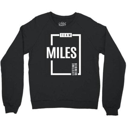Miles Personalized Name Birthday Gift Crewneck Sweatshirt Designed By Cidolopez