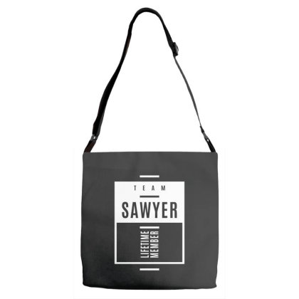 Sawyer Personalized Name Birthday Gift Adjustable Strap Totes Designed By Cidolopez