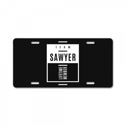 Sawyer Personalized Name Birthday Gift License Plate Designed By Cidolopez