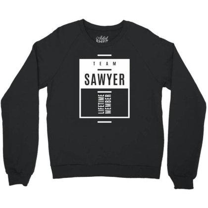 Sawyer Personalized Name Birthday Gift Crewneck Sweatshirt Designed By Cidolopez