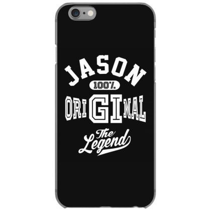 Jason Personalized Name Birthday Gift Iphone 6/6s Case Designed By Cidolopez