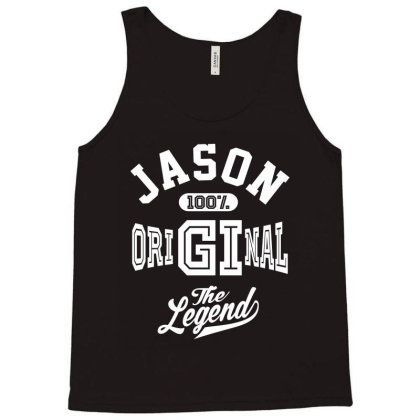 Jason Personalized Name Birthday Gift Tank Top Designed By Cidolopez