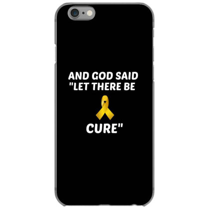 And God Said Let There Be Cure White Iphone 6/6s Case Designed By Perfect Designers