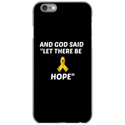 And God Said Let There Be Hope White Iphone 6/6s Case Designed By Perfect Designers