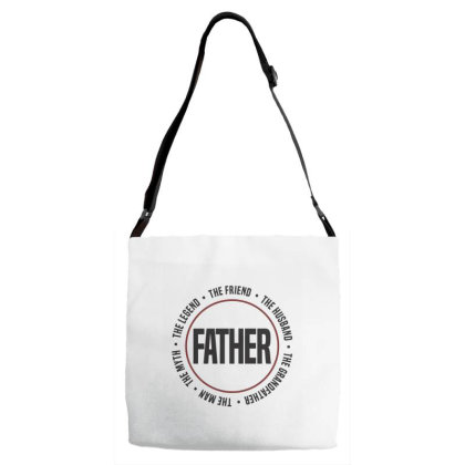 Father Adjustable Strap Totes Designed By Chris Ceconello