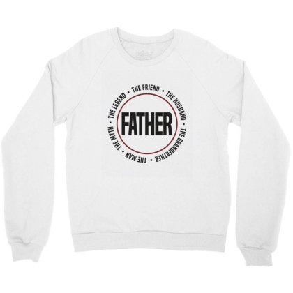 Father Crewneck Sweatshirt Designed By Chris Ceconello