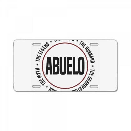 Abuelo License Plate Designed By Chris Ceconello