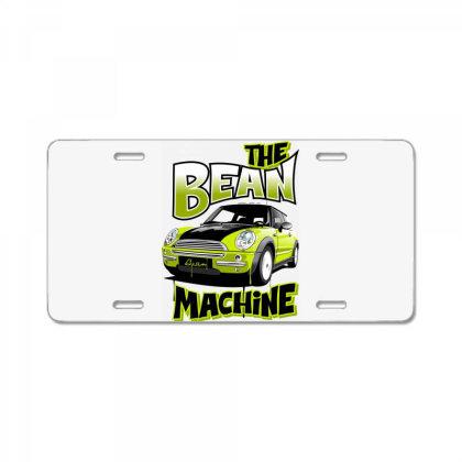 The Bean Machine License Plate Designed By Samkal