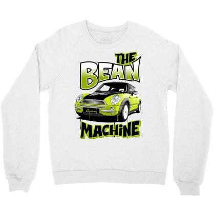 The Bean Machine Crewneck Sweatshirt Designed By Samkal