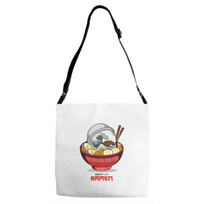 Space Ramen Adjustable Strap Totes Designed By Hirolabs