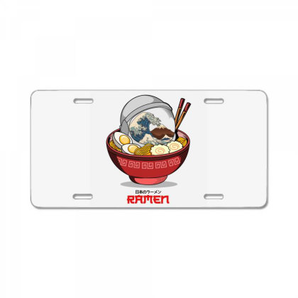 Space Ramen License Plate Designed By Hirolabs