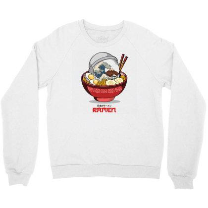 Space Ramen Crewneck Sweatshirt Designed By Hirolabs