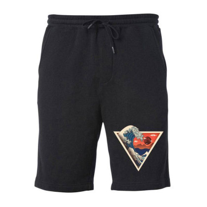 Big Wave Fleece Short Designed By Hirolabs