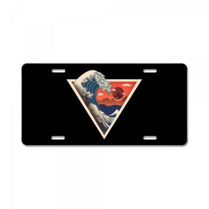 Big Wave License Plate Designed By Hirolabs