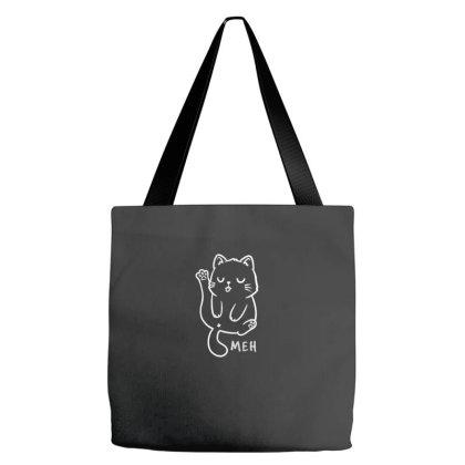 Meh Funny Cute Gift Tote Bags Designed By Koalastudio