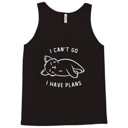 I Can't Go I Have Plans Funny Cute Gift Tank Top Designed By Koalastudio