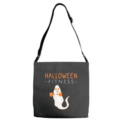 Halloween Fitness Workout Adjustable Strap Totes Designed By Cypryanus