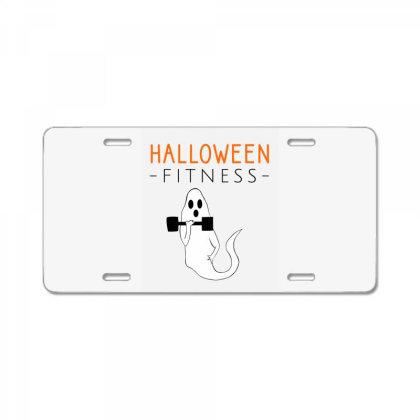 Halloween Fitness License Plate Designed By Cypryanus