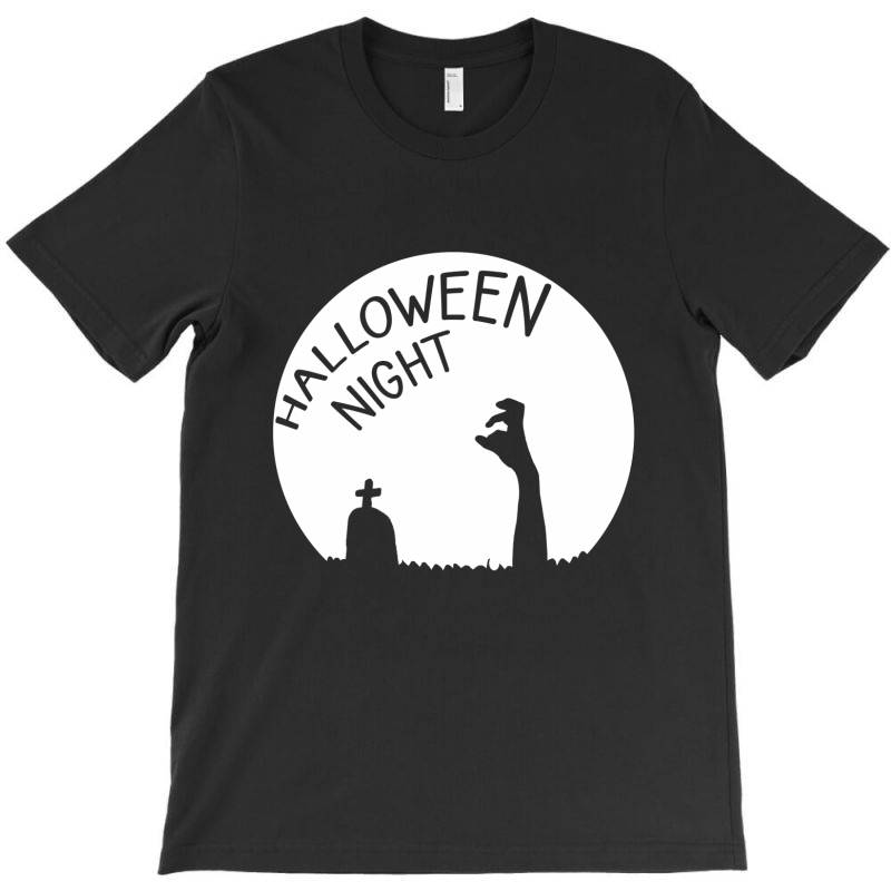 Halloween Night Zombies T-shirt | Artistshot