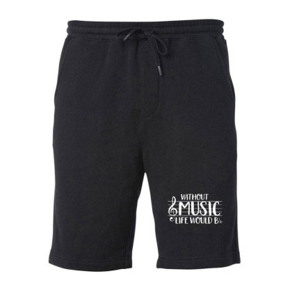 Musick World Fleece Short Designed By Tremsrart