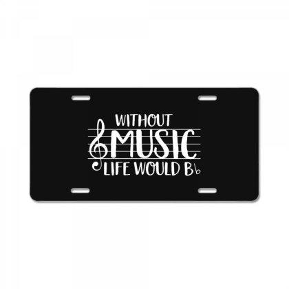 Musick World License Plate Designed By Tremsrart