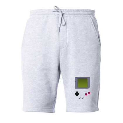 Game Boy Fleece Short Designed By Tremsrart
