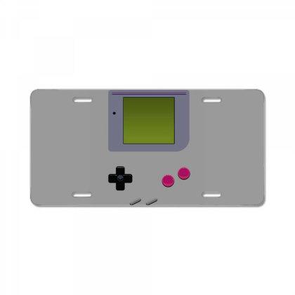 Game Boy License Plate Designed By Tremsrart