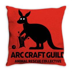 animal lovers arc Throw Pillow | Artistshot